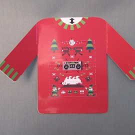 Ugly Sweater Dance Party Card
