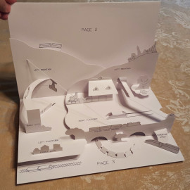 Trains for a Pop-up Book