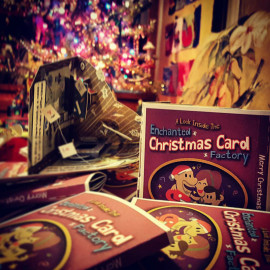 A Look Inside The Enchanted Christmas Card Factory