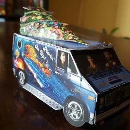 Custom Street Van Holiday Card