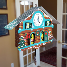 New Cuckoo Clock Christmas Card at MoMA