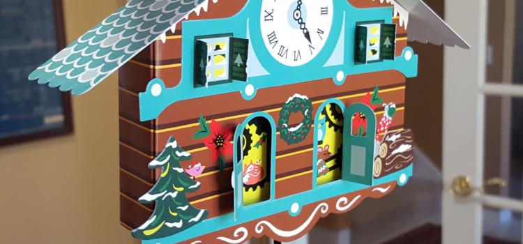 New Cuckoo Clock Christmas Card at MoMA