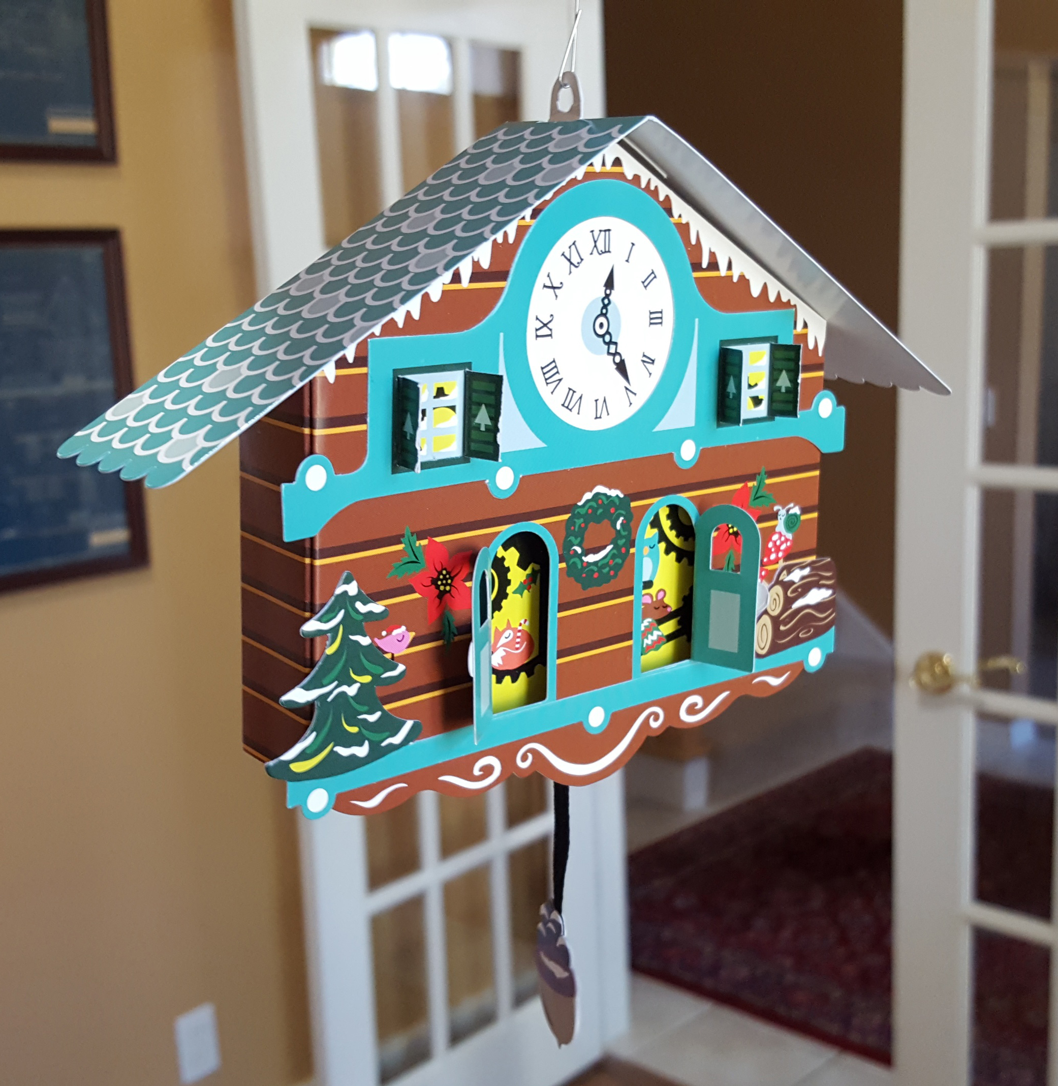 New Cuckoo Clock Christmas Card at MoMA – Rob Kelly Design