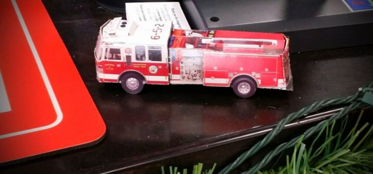 Pop-up Fire Truck