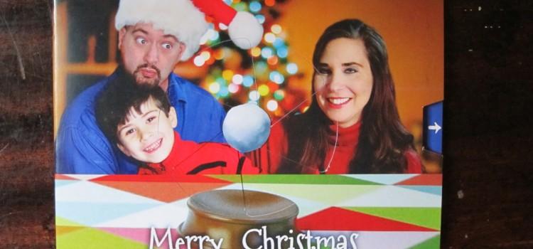 Snow Globe Christmas Card